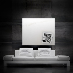 the reason 120x100cm SOLD