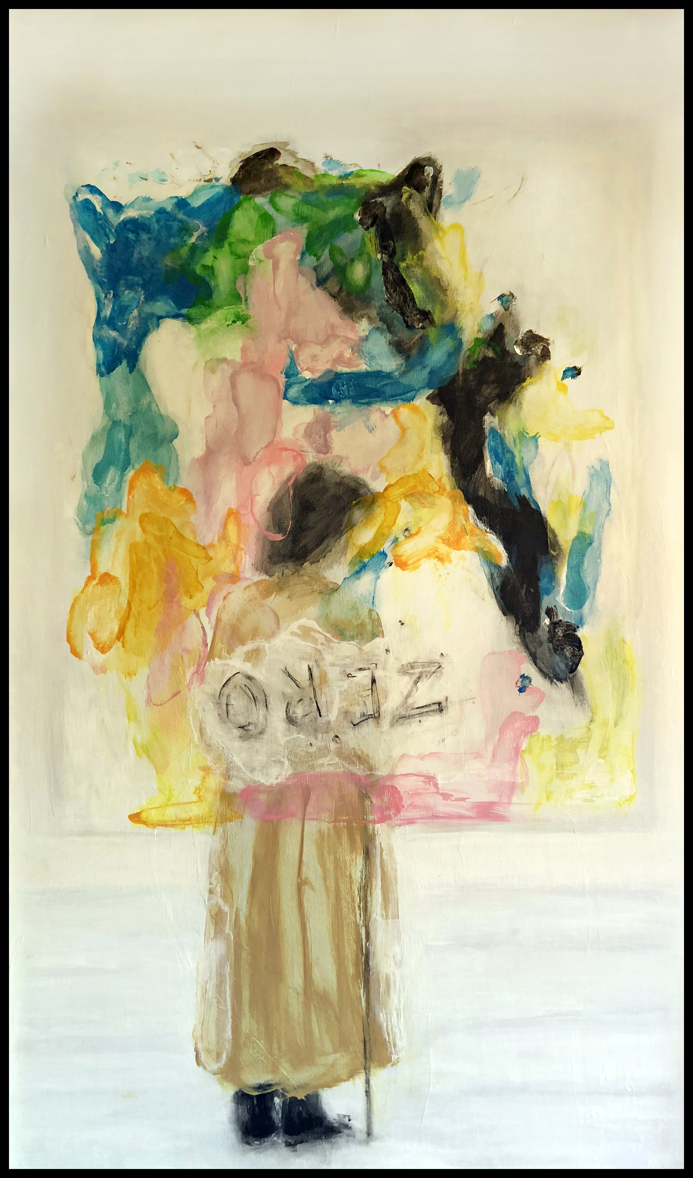 The painter and his painting-Baselitz -