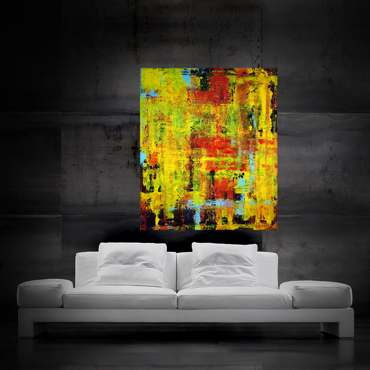 abstract0413 100x120cm SOLD