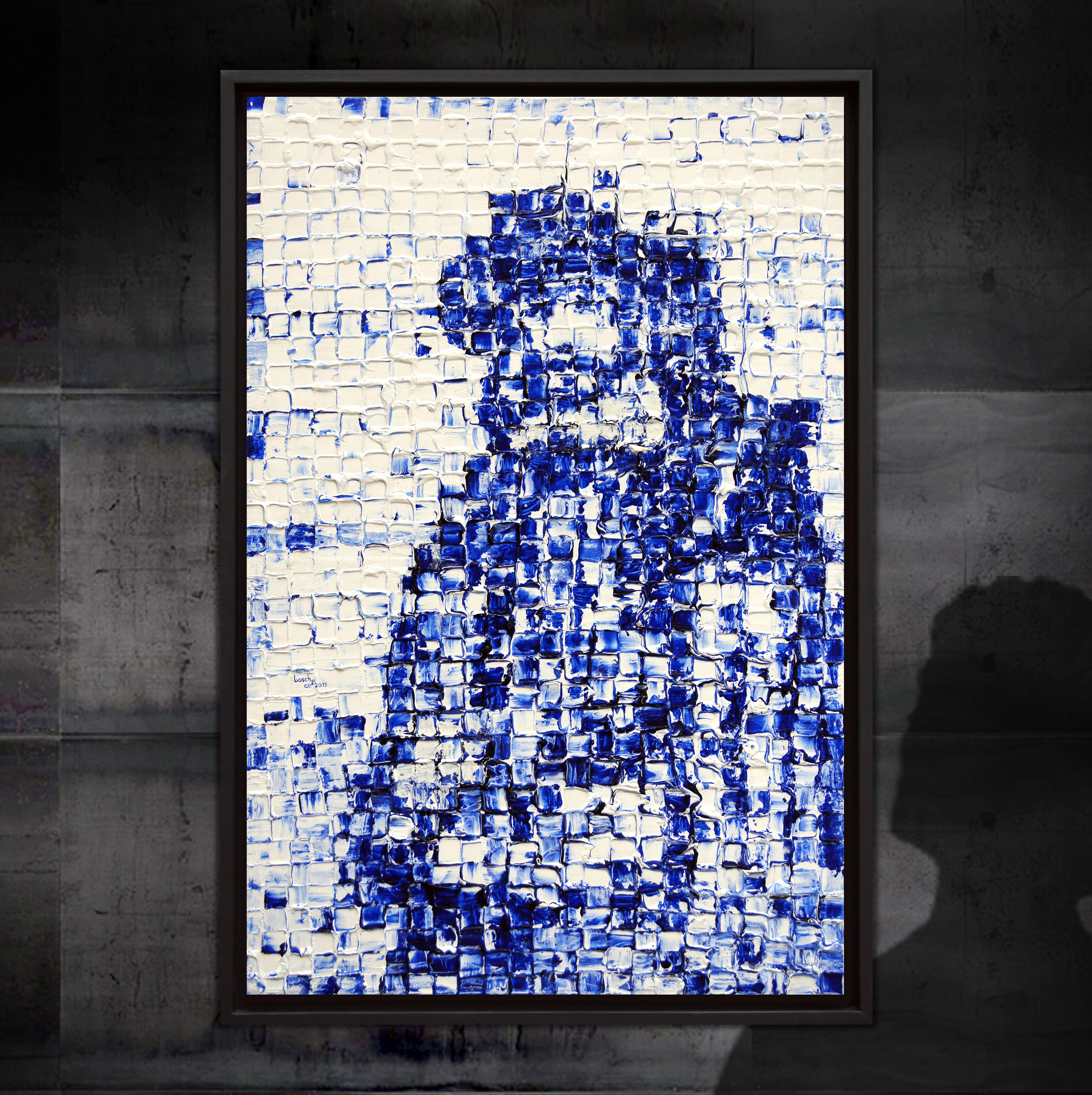 Portret van een man met snor en hoed