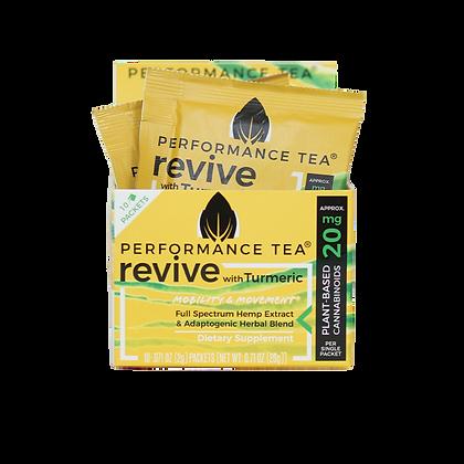 Performance Tea Revive Organic CBD Instant CBD Singles