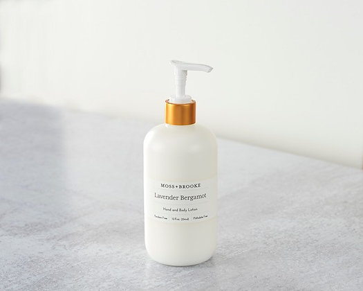 Moss & Brooke Lavender Bergamot Hand and Body Lotion