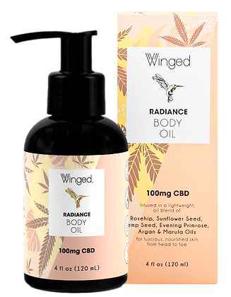 Winged Radiance Body Oil