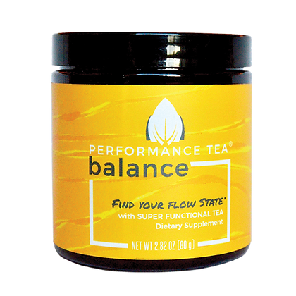 Performance Tea Balance Instant Blend Tea - jar