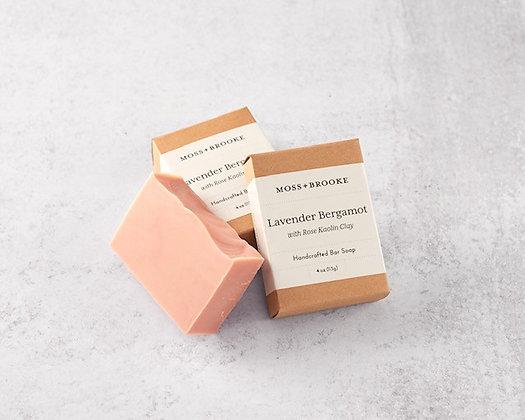 Moss & Brooke Lavender Bergamot Bar Soap