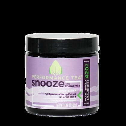 Performance Tea Snooze Organic CBD Blend - jar