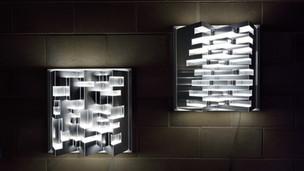 Luna light sculptures 2017