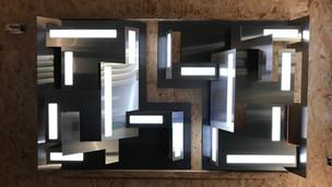 kinetic oled light sculpture 2018