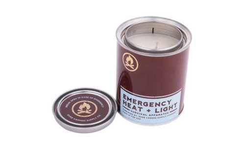 Duke Cannon Emergency Heat & light Candle
