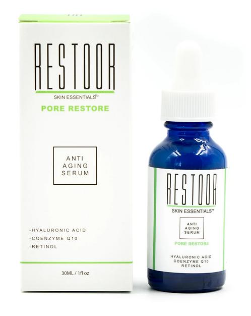 Restoor Pore Restore with Retinol Anti-Aging Serum 1Fl oz