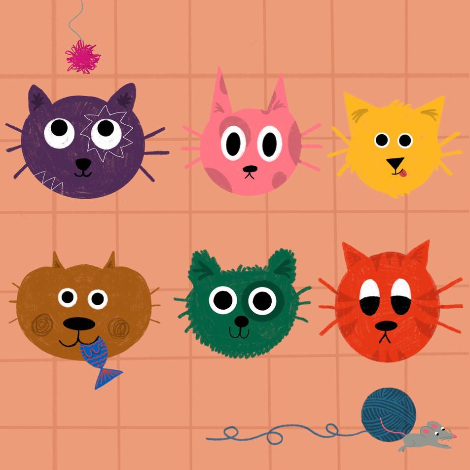Kitty Cat Personalities