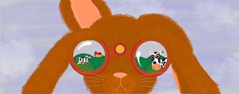 Binocular Bunny