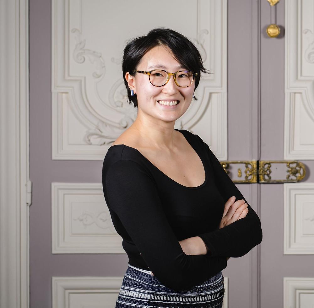 Shu Zhang, fondatrice de Pandobac, transport de marchandises zéro déchet
