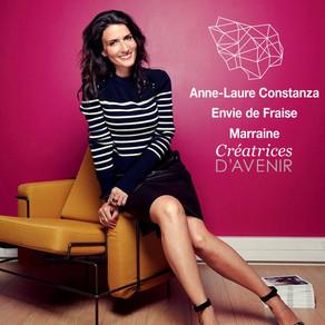 """Anne-Laure Constanza marraine de la 6e édition du concours """"Créatrices d'Avenir"""""""