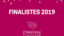 Les 15 finalistes de l'édition 2019 sont ...