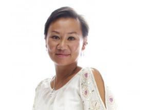 Cécile Pasquinelli Vu-Hong (Créatrice d'Avenir 2013) et ses maillots de bain dans L'Express
