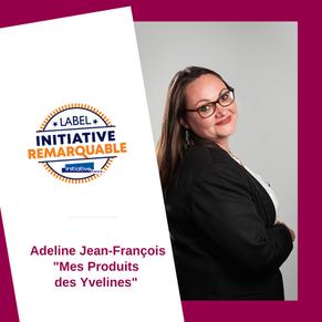 Adeline Jean-François #CreadAvenir2019 labellisée Initiative Remarquable!