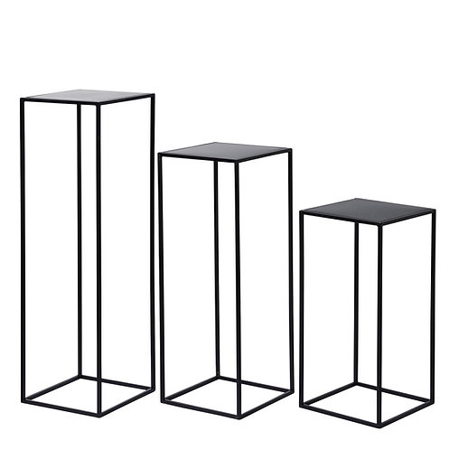 Metal Plinth -Black