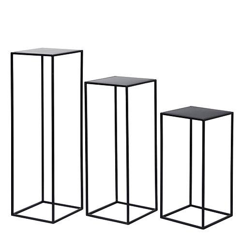 Metal Plinth -Black