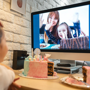 throw a virtual kids party