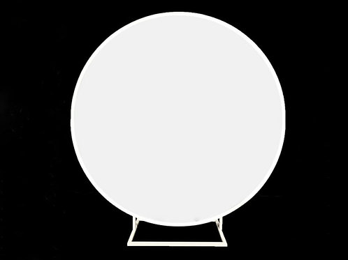 Round White Wall