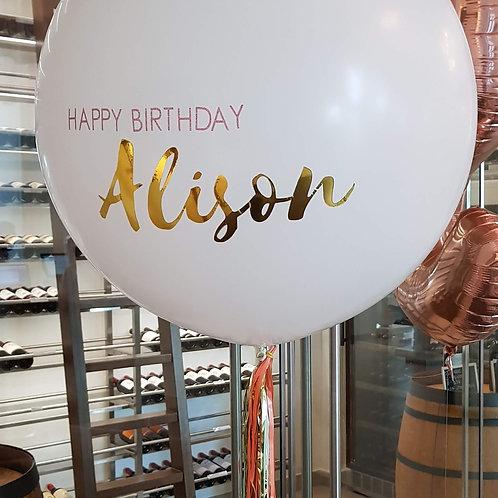 Helium Balloon - Personalised