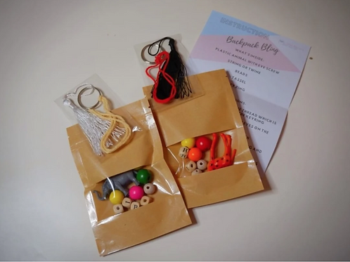 Backpack Bling Craft Box
