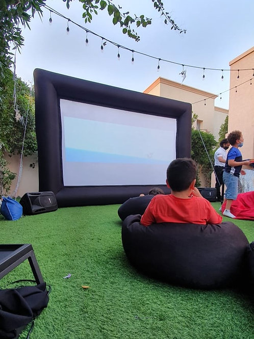 Inflatable Cinema and Projector
