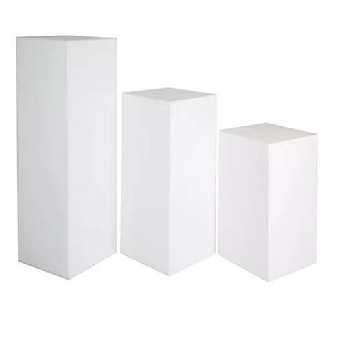 Box Plinth -White
