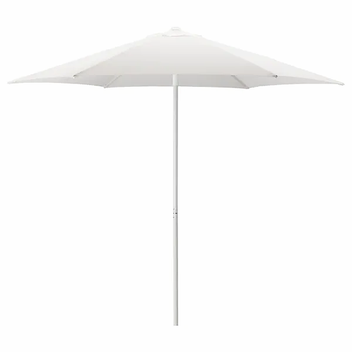 White Umbrella and base