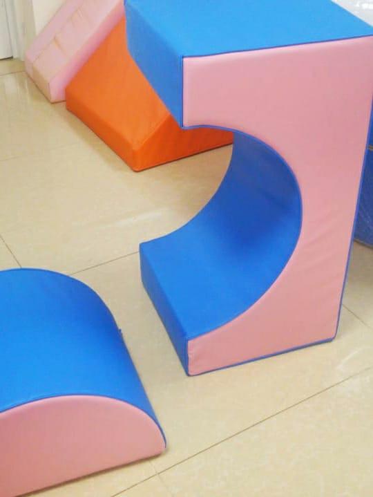 Soft Play Cylinder Bridge