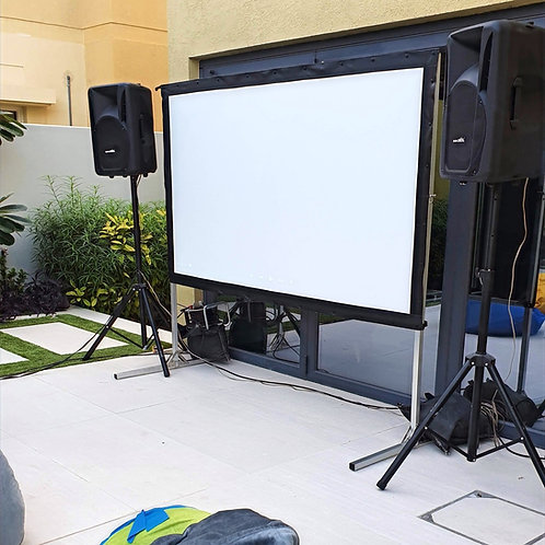 Cinema and Projector