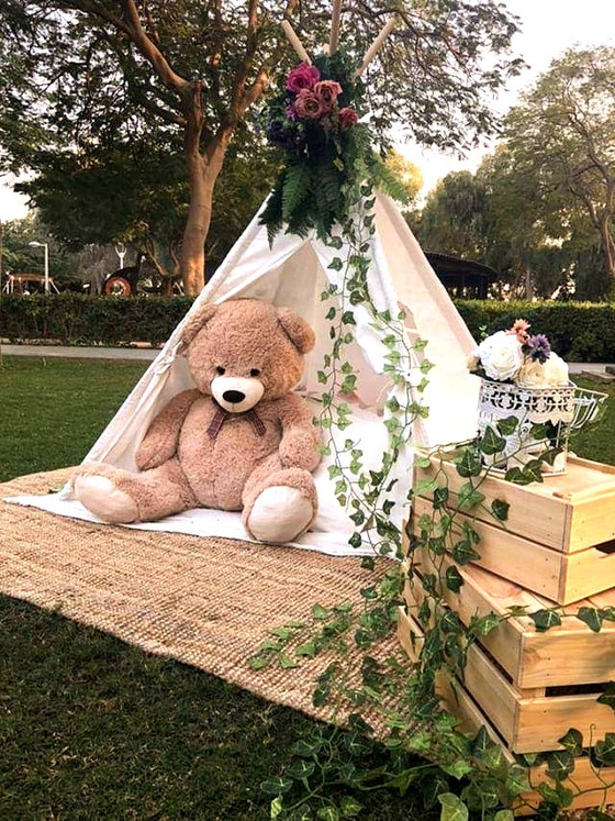 Tents and Teepees