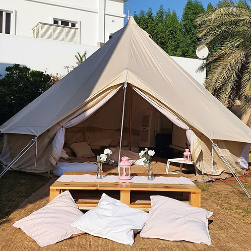 Glamping Tent -No Mattresses