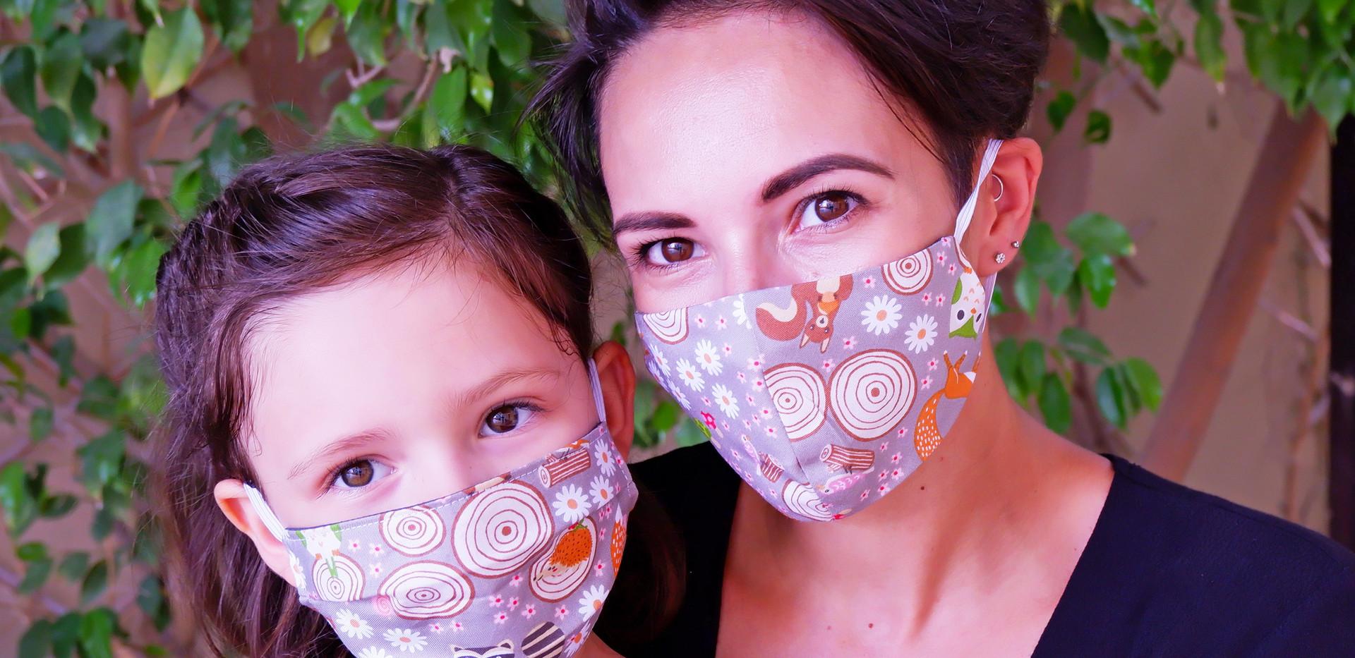 Woodland Cap Style Fabric Mask