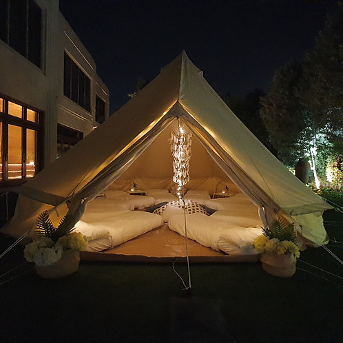 Glamping Tent - Sleepover