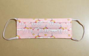 Pink Unicorn Fabric Mask
