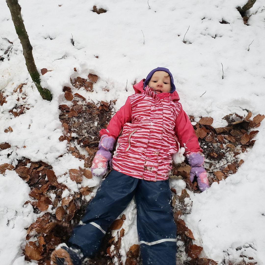 ein Schneeengelchen