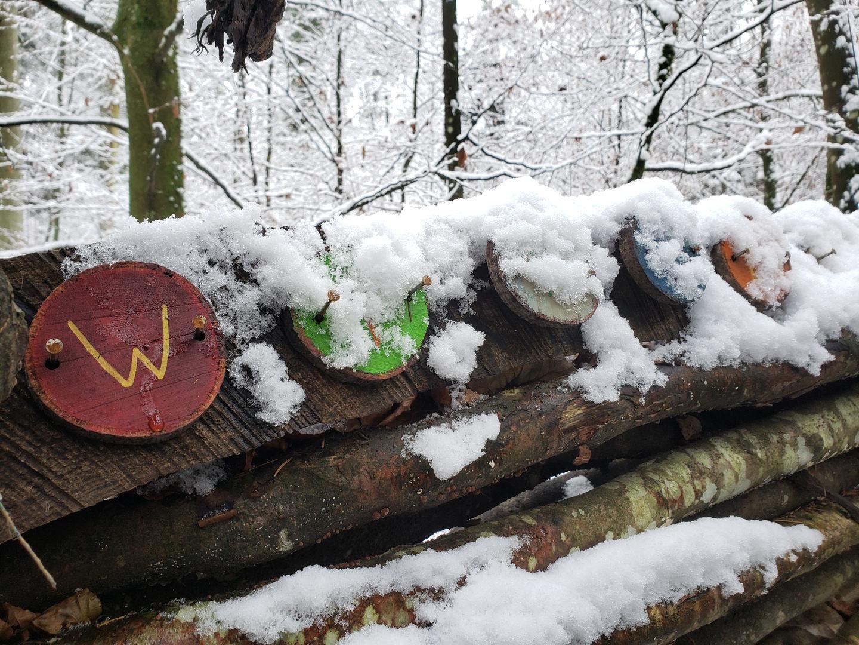 wirbelwind im schnee!