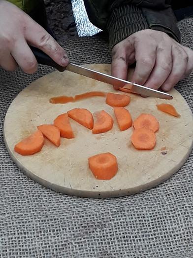 vorbereitung für die buchstabesuppe