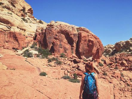 Hiking Red Rocks Canyon, Las Vegas