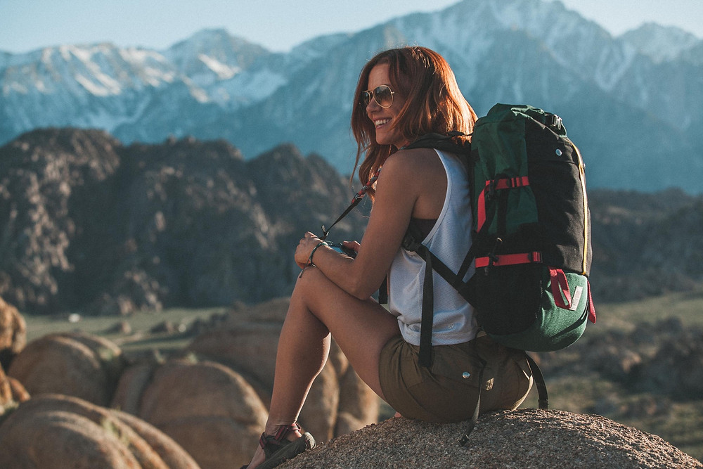Mountain Roll Top Bag, Camera Strap, Camp Shorts, Photo by @MorganAyres