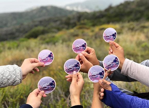 Women Who Hike Patch