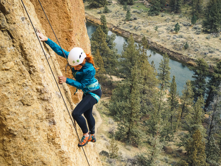 Climbing With She Moves Mountains