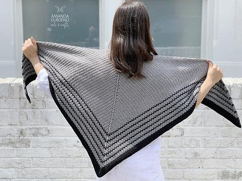 Crochete Junto | Xale Veredas