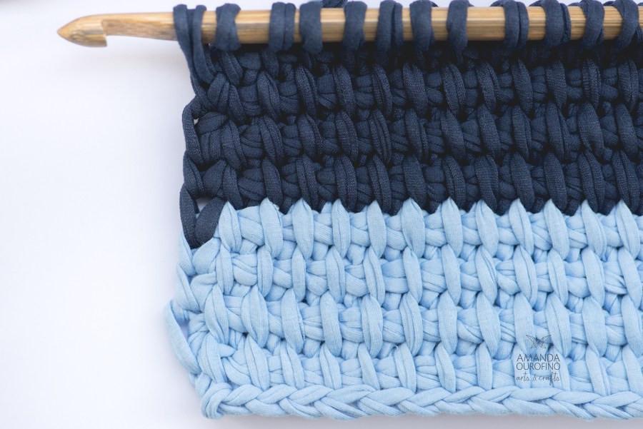 crochê tunisiano crochet knit tunisian