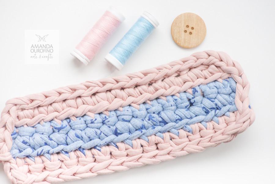 Uma cozy mug pra chamar de sua tutorial crochê caneca