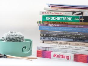 Minha estante de livros | Crochê