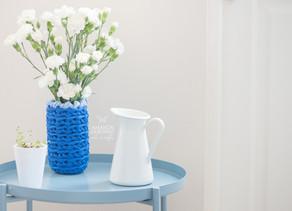 Vaso de Flores | Crochê