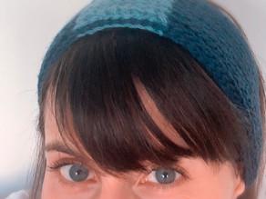 Faixa de cabelo Cobogó | Crochê Tunisiano